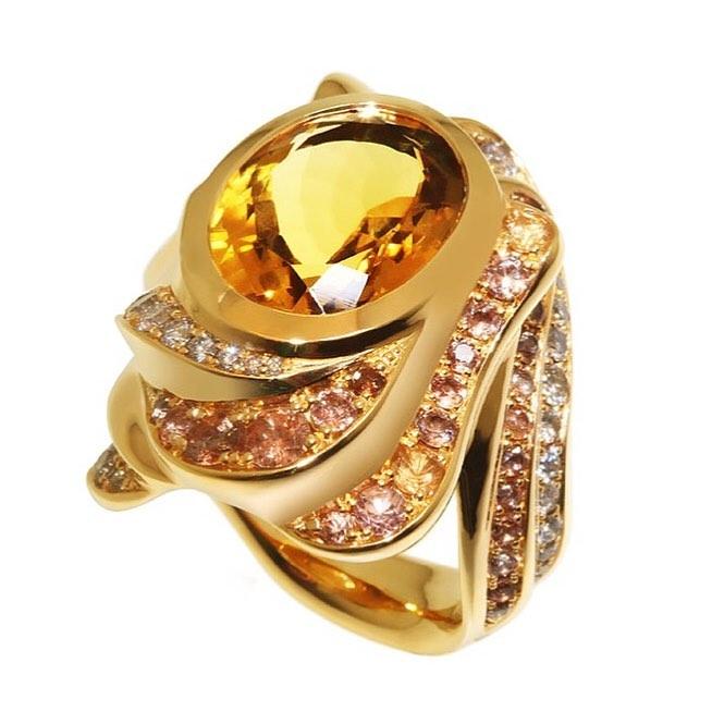 finejewelry ring gold gemstone diamond brittlechips nougat candiedorange slice sparkling rocksugar whiskey flavored whippedcream  oneofakind  atelier munich instagood instajewelry instafood jewelryaddict haveaniceday