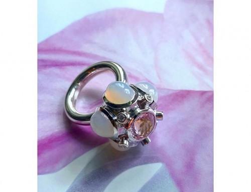 finejewellery capsule whitegold gold gems diamonds capsule bud detailed powder pastel pink white blue spring instajewelry instagood haveaniceday